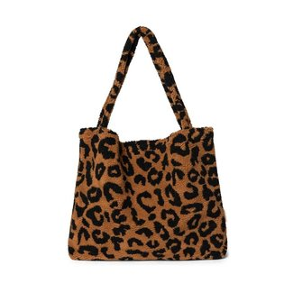 Studio Noos Teddy Leopard Brown Mom-Bag | Limited Edition