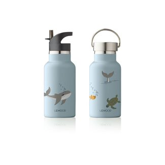Liewood Drinkfles Anker Water Bottle | Sea Creature Mix