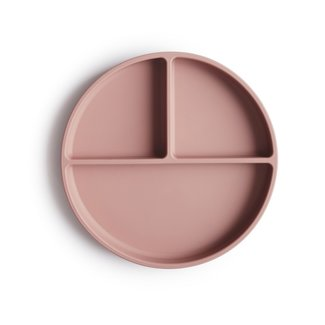 Mushie Siliconen Bord met Zuignap | Blush