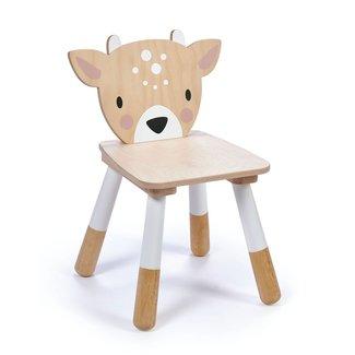 Tender Leaf Toys Tweedekans Houten Kinderstoel Hert | Forest Deer Chair