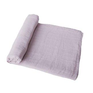 Mushie Hydrofiele doek - Swaddle | Lilac