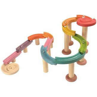 Plan Toys Knikkerbaan - Deluxe