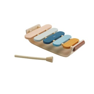Plan Toys Houten Ovale Xylofoon - Orchard Collection
