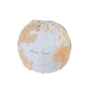 Lorena Canals Poef Worldmap