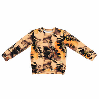 Misioo Sweater | Forest Leaves