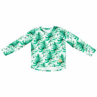 Misioo Shirt Met Lange Mouwen   Trees