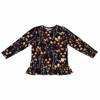 Misioo Shirt Met Lange Mouwen & Ruches | Forest Meadow