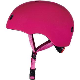 Micro Step Helm Deluxe Framboos Roze | Maat S