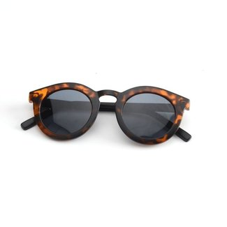 Grech & Co. Zonnebril Gerecycled Plastic   Solid Tortoise