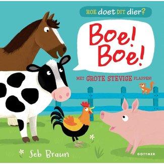 Gottmer Kinderboek | Hoe doet dit dier? Boe! Boe!