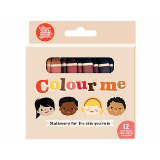 Colour Me Kids Wasco Krijtjes | 12 stuks