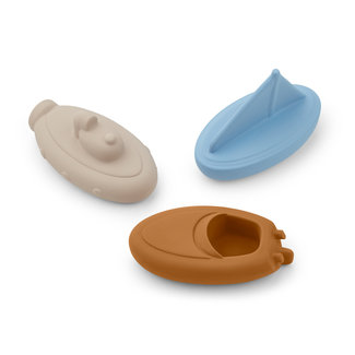 Liewood Troels Badspeelgoed 3-pack | Blue Multi Mix