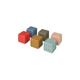 Liewood Dobbelstenen 6-pack | Multi Mix