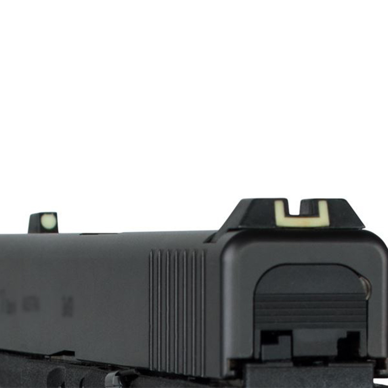 Glock steel sights (Luminescent)