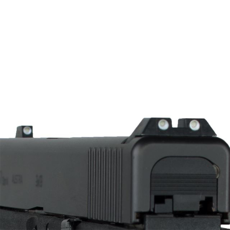 Glock steel sights (self-luminiscent)