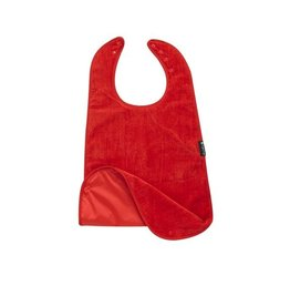 Mum2Mum Plus range supersized feeding apron red