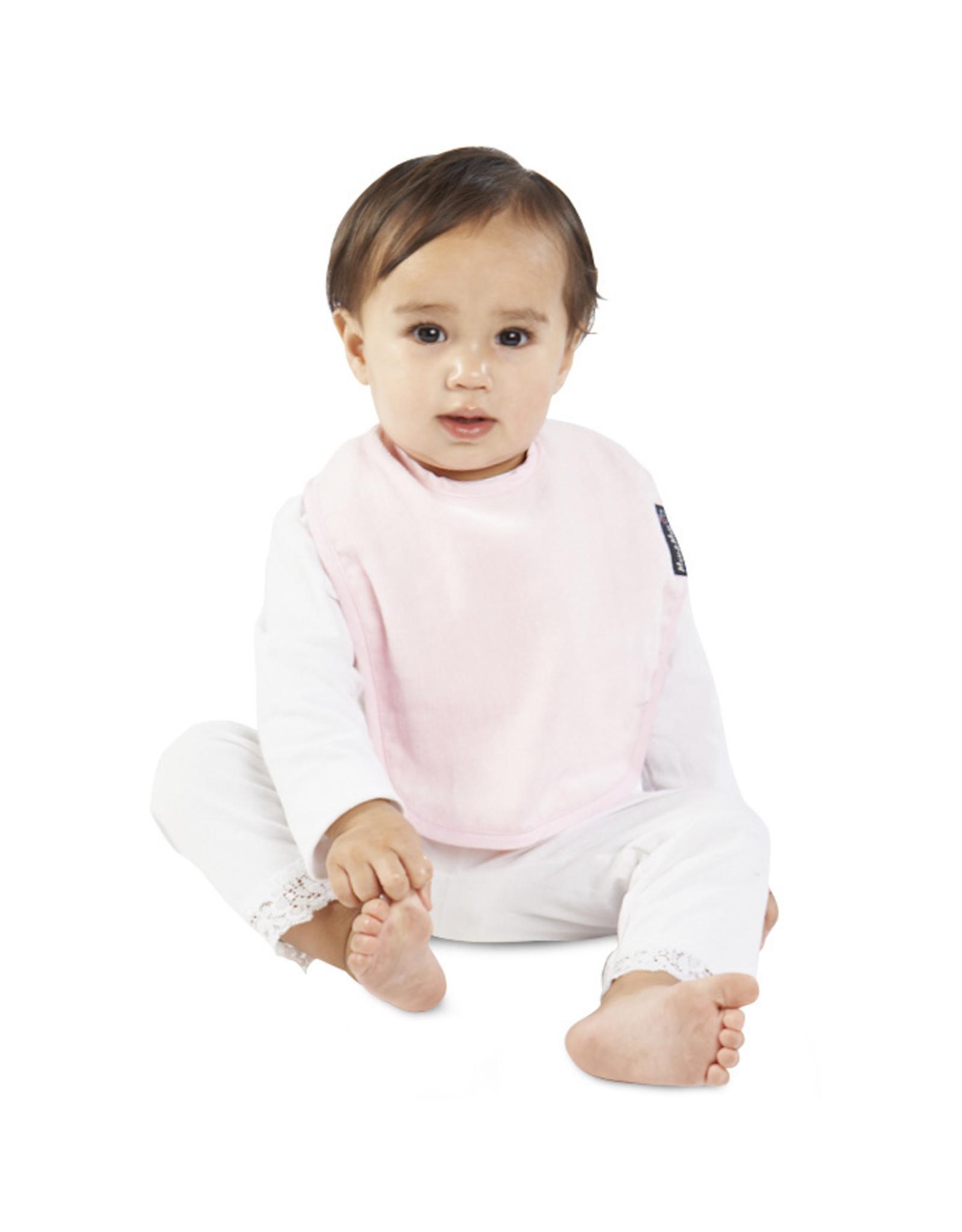 Mum2Mum Mum2Mum Standard Bib Baby Pink 6 stuks
