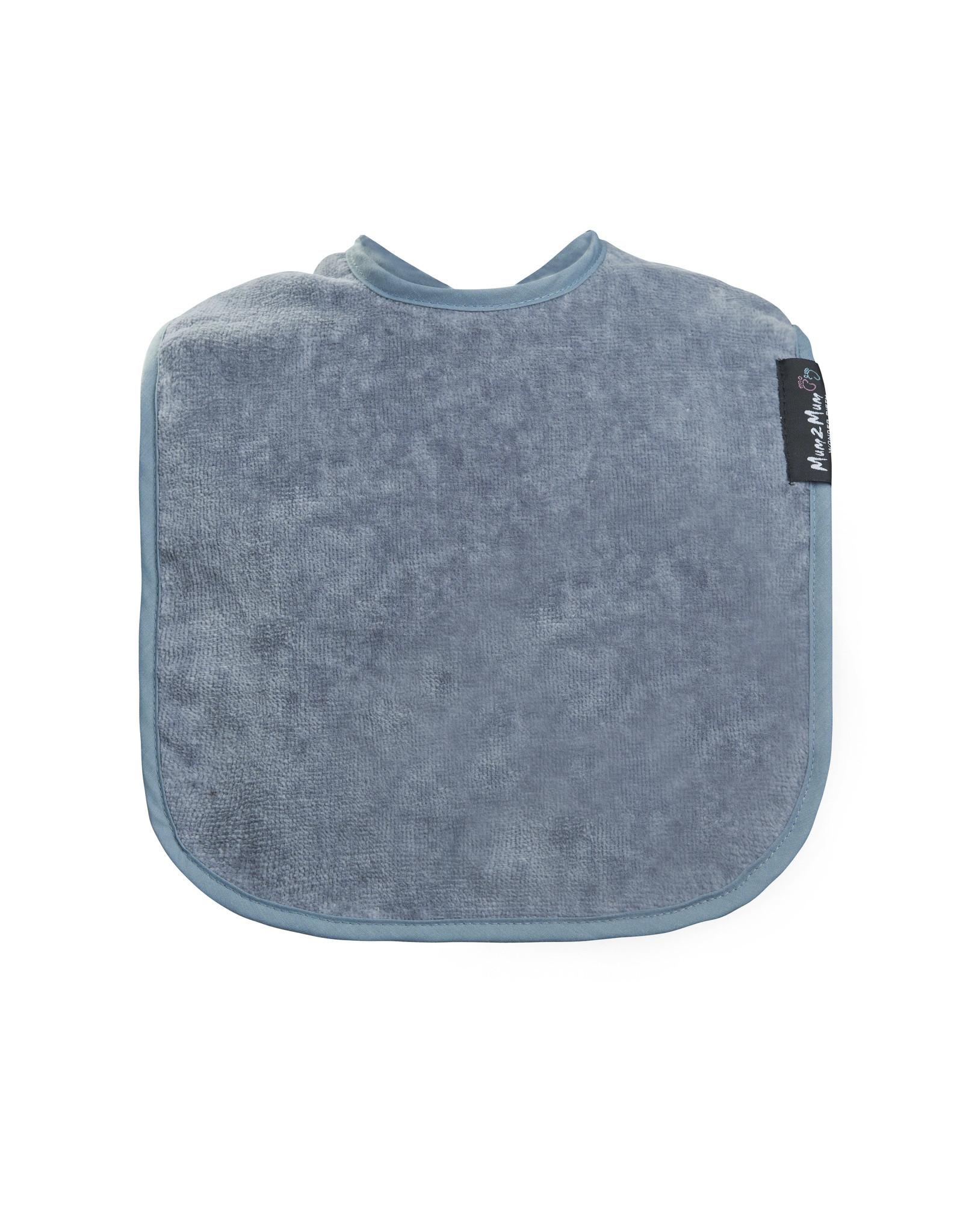 Mum2Mum Mum2Mum Standard Bib Grey 6 stuks