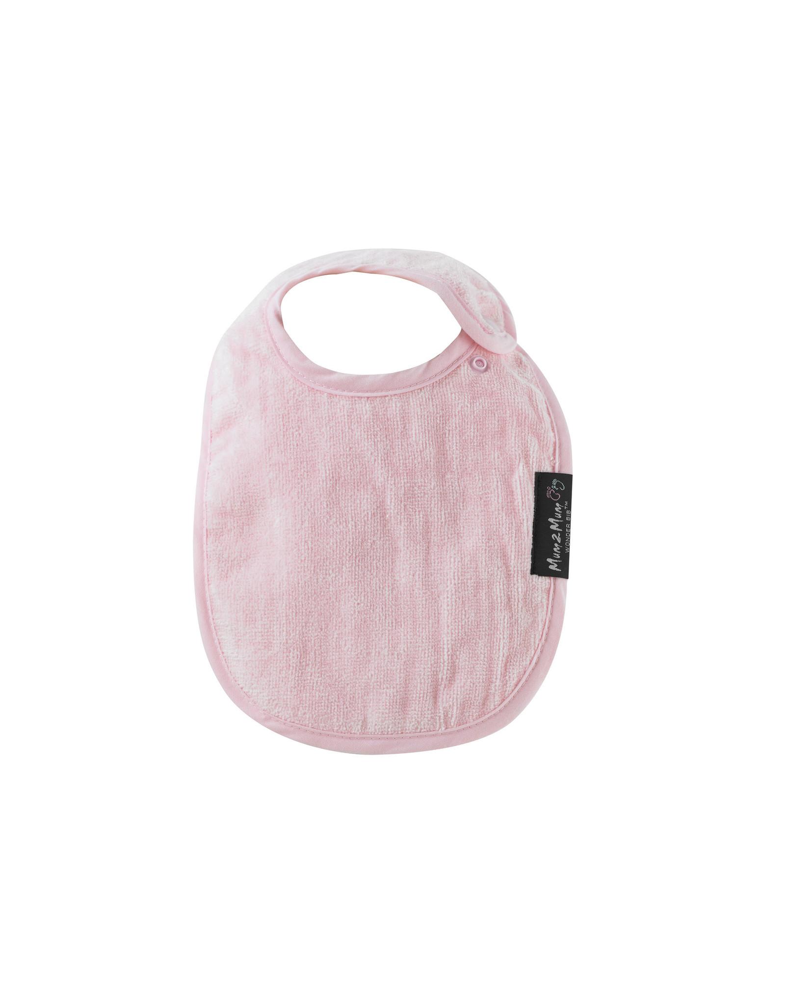 Mum2Mum Mum2Mum Infant Bib Baby Pink 6 stuks