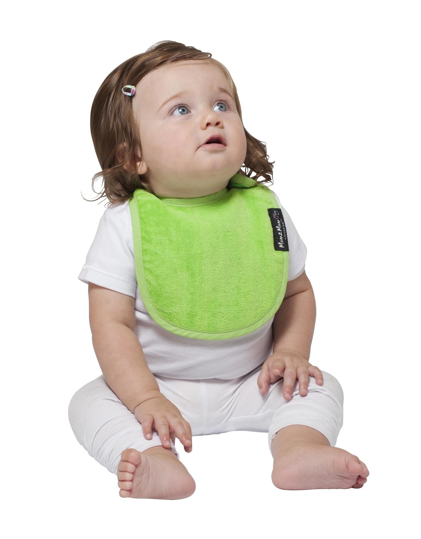 Mum2Mum Mum2Mum Infant Bib Lime 6 pieces