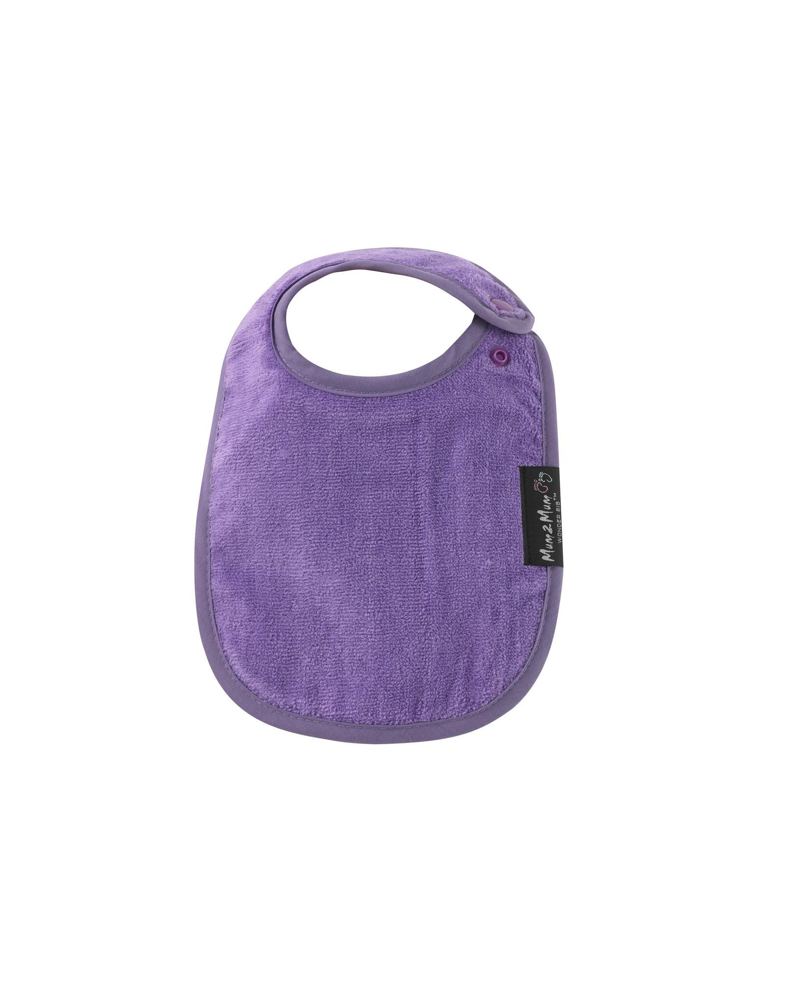 Mum2Mum Mum2Mum Infant Bib Purple 6 pieces