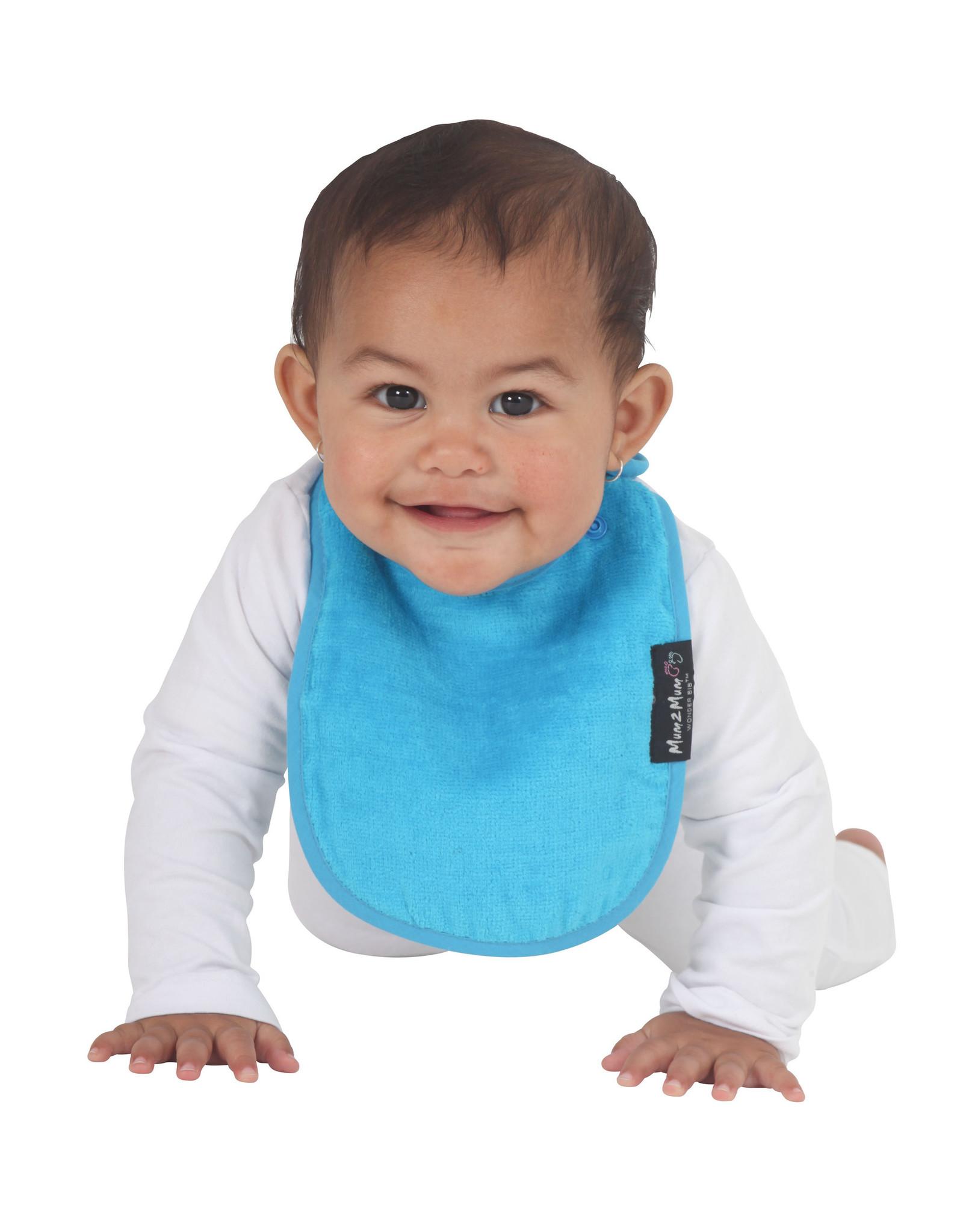 Mum2Mum Mum2Mum Infant Bib Teal 6 pieces