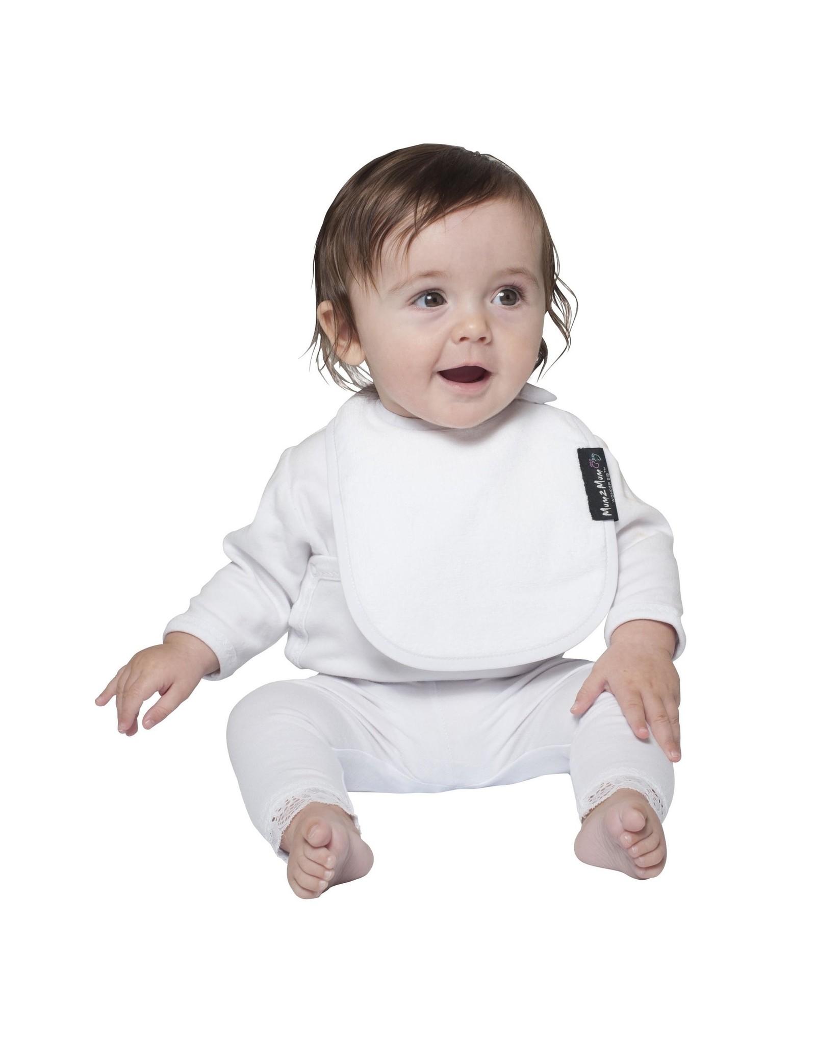 Mum2Mum Mum2Mum Infant Bib White