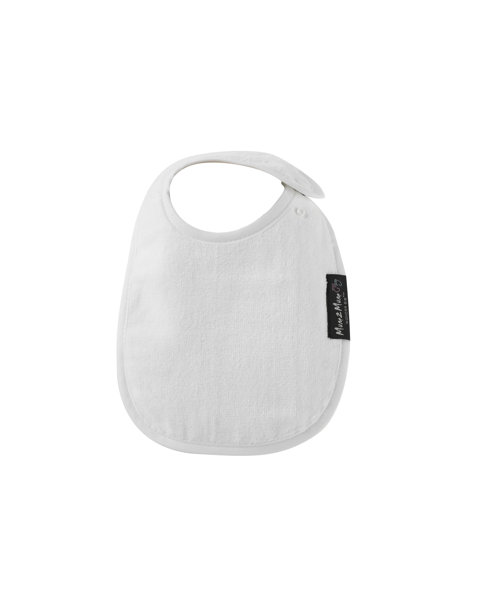 Mum2Mum Mum2Mum Infant Bib White 6 pieces