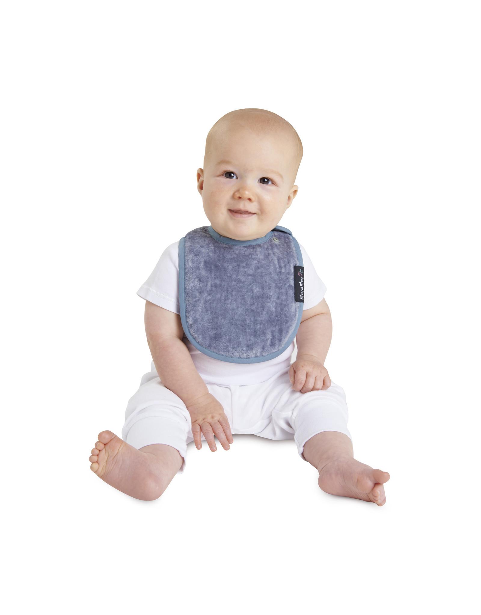 Mum2Mum Mum2Mum Infant Bib Grey 6 pieces