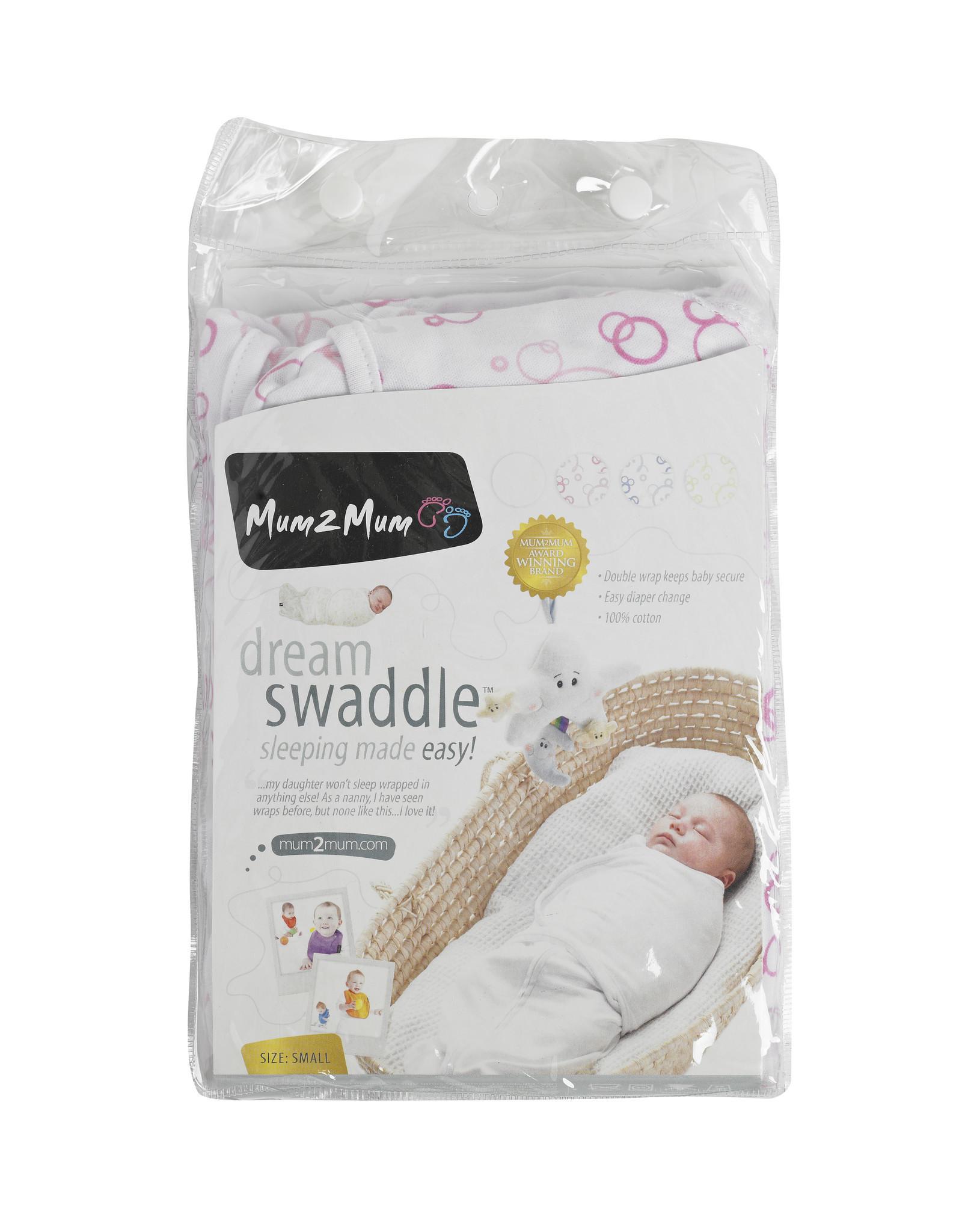 Mum2Mum Mum2Mum Dream Swaddle Small Pink