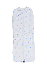 Mum2Mum Mum2Mum Dream Swaddle Large Blue Cross