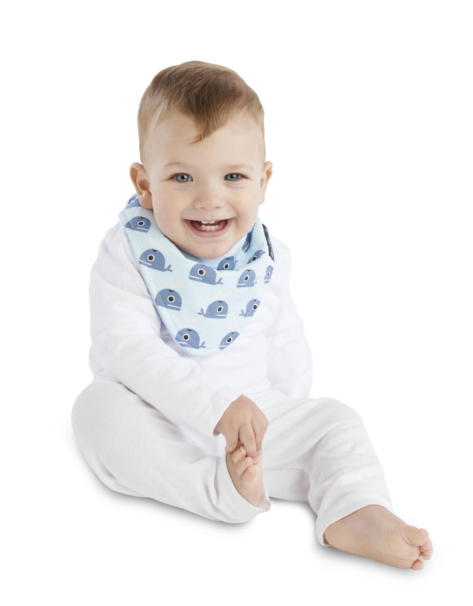 Mum2Mum Mum2Mum Fashion Fib Whales Baby Blue