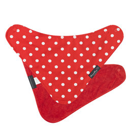 Mum2Mum Fashion Bib Red Dots 6 stuks