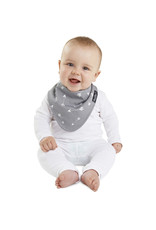 Mum2Mum Mum2Mum Fashion Bib Grey Arrow 6 pieces