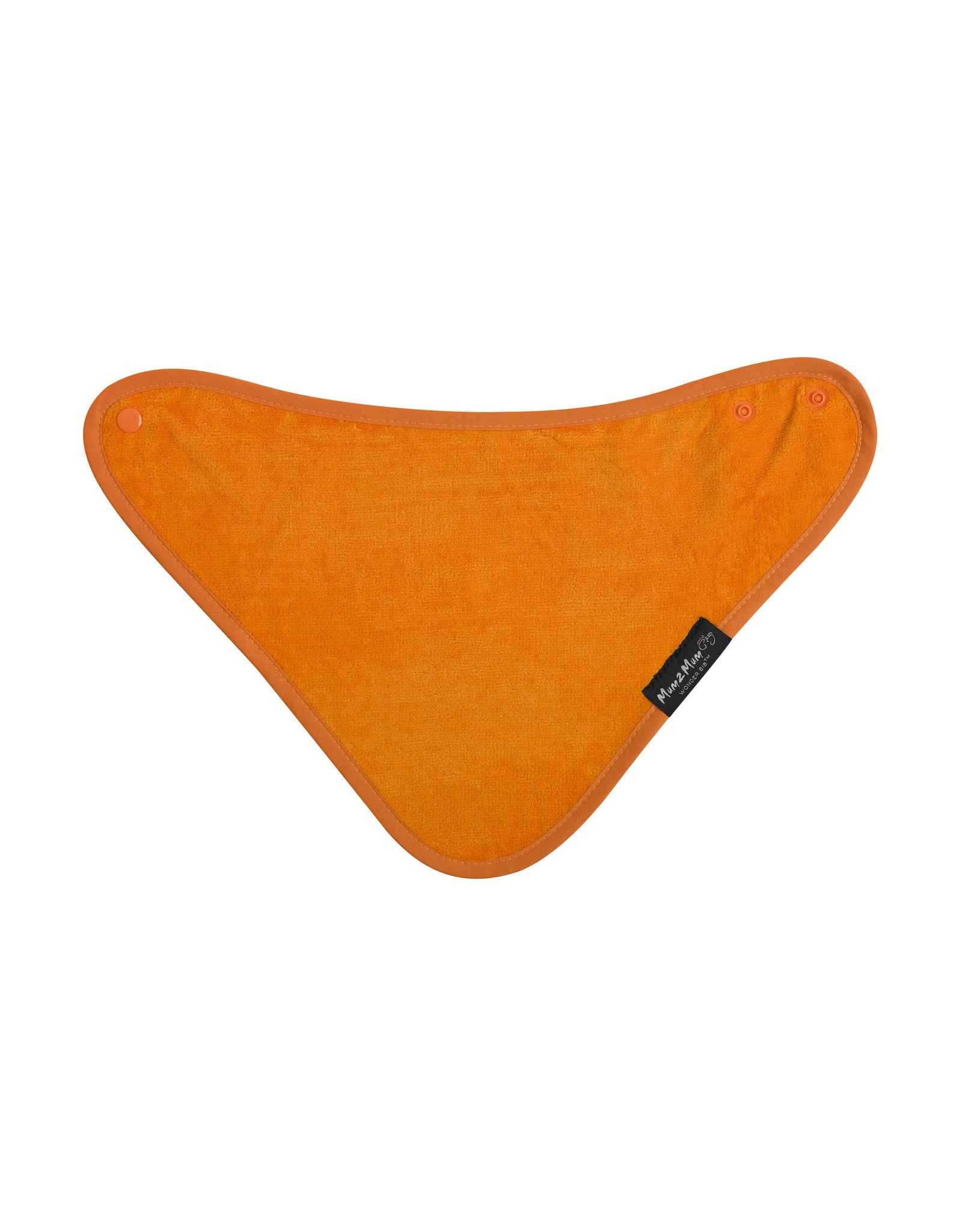 Mum2Mum Mum2Mum Bandana Bib Orange 6 stuks