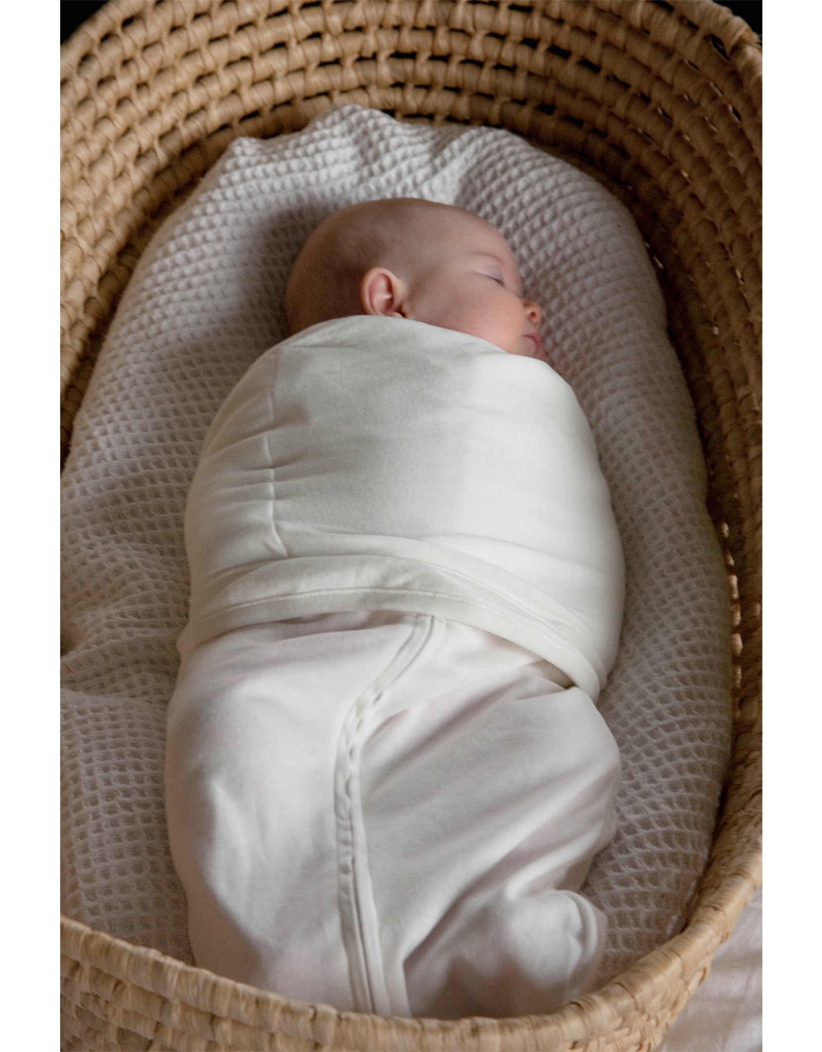 Mum2Mum Mum2Mum Summer Dream Swaddle Large White