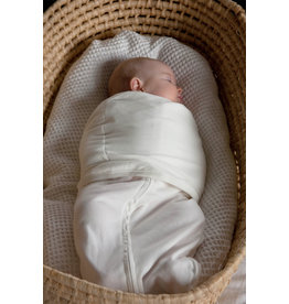 Mum2Mum Summer Dream Swaddle Large White