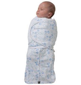 Mum2Mum Summer Dream Swaddle Small Blue