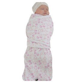 Mum2Mum Summer Dream Swaddle Small Pink