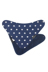 Mum2Mum Mum2Mum Fashion Bib Navy Stars Navy 6 pieces