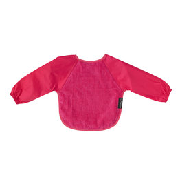 Mum2Mum Sleeved Bib Large Cerise