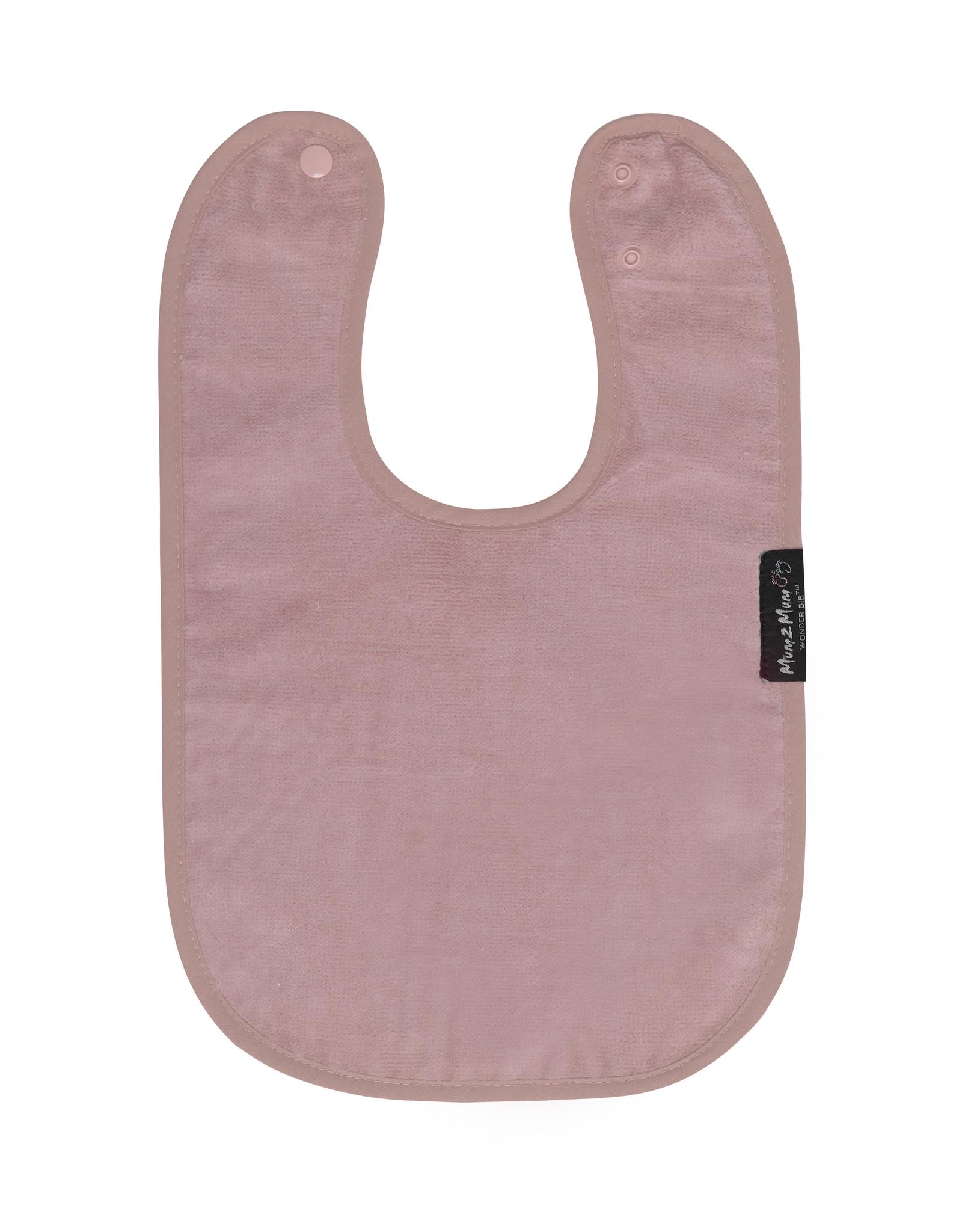 Mum2Mum Mum2Mum Standard Bib Dusty Pink 6 pieces