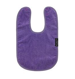 Mum2Mum Standard Bib  Purple 6 stuks