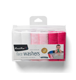 Mum2Mum Face Washers Girl Mix