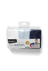 Mum2Mum Face Washers Boy Mix 6 pieces in a package  - Copy