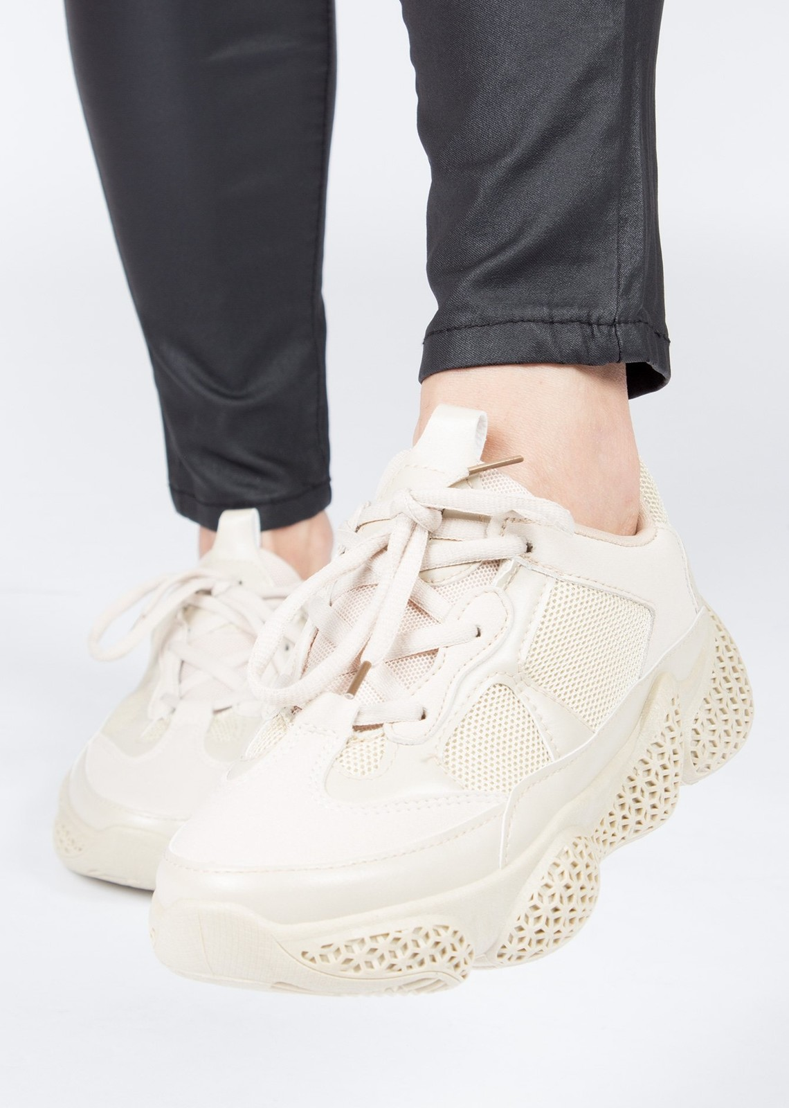 Trainers beige