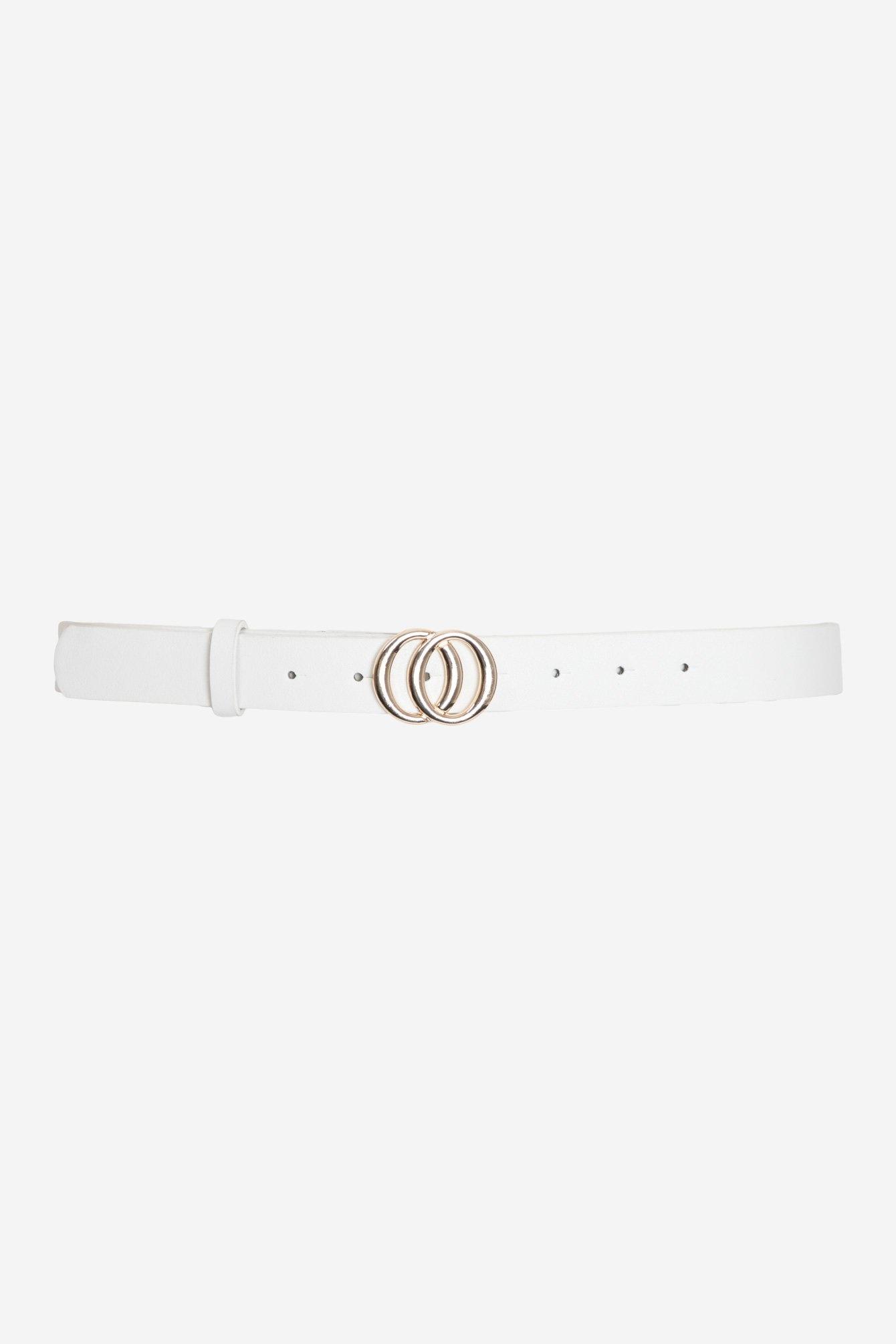 Ring belt white