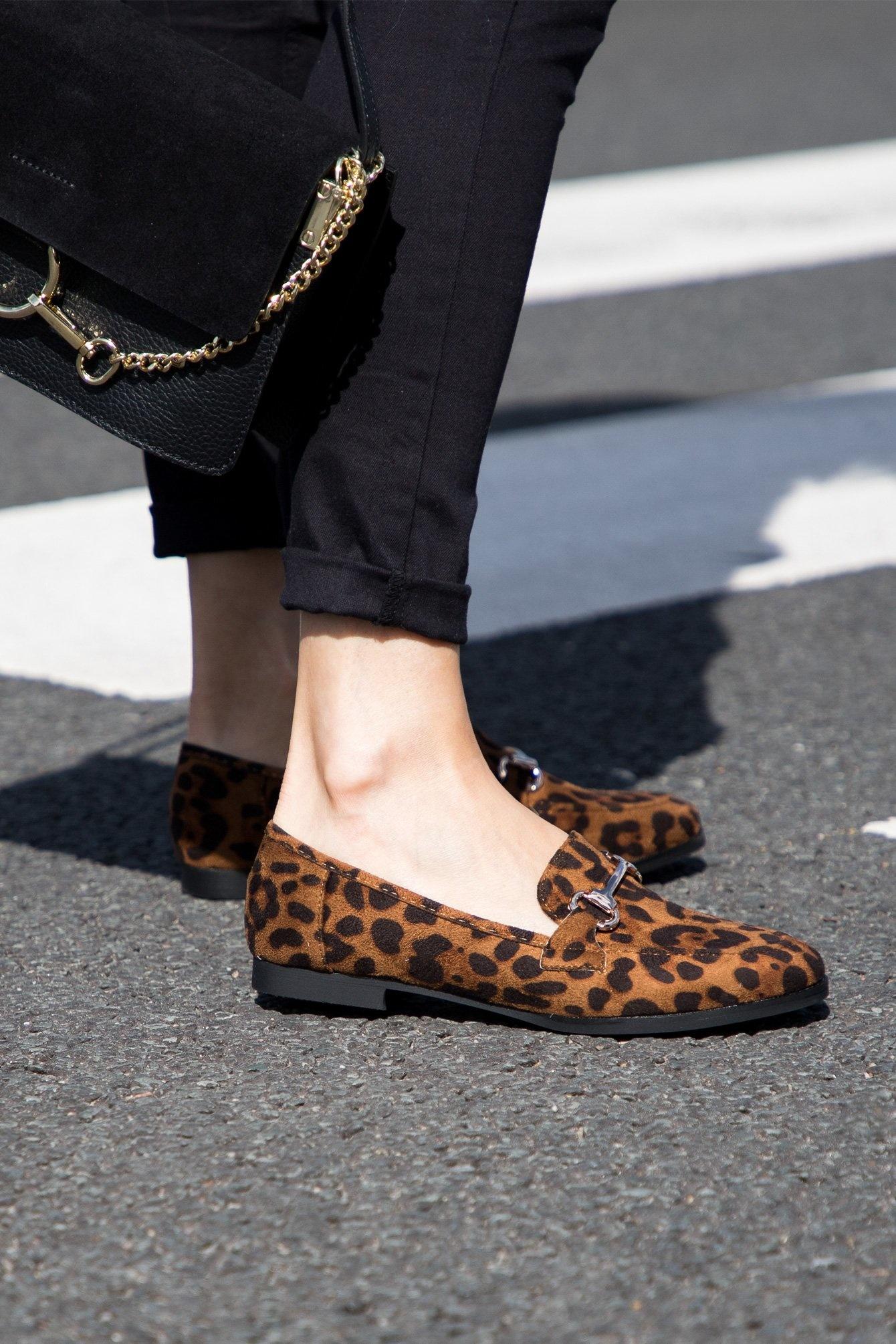 Leopard loafer