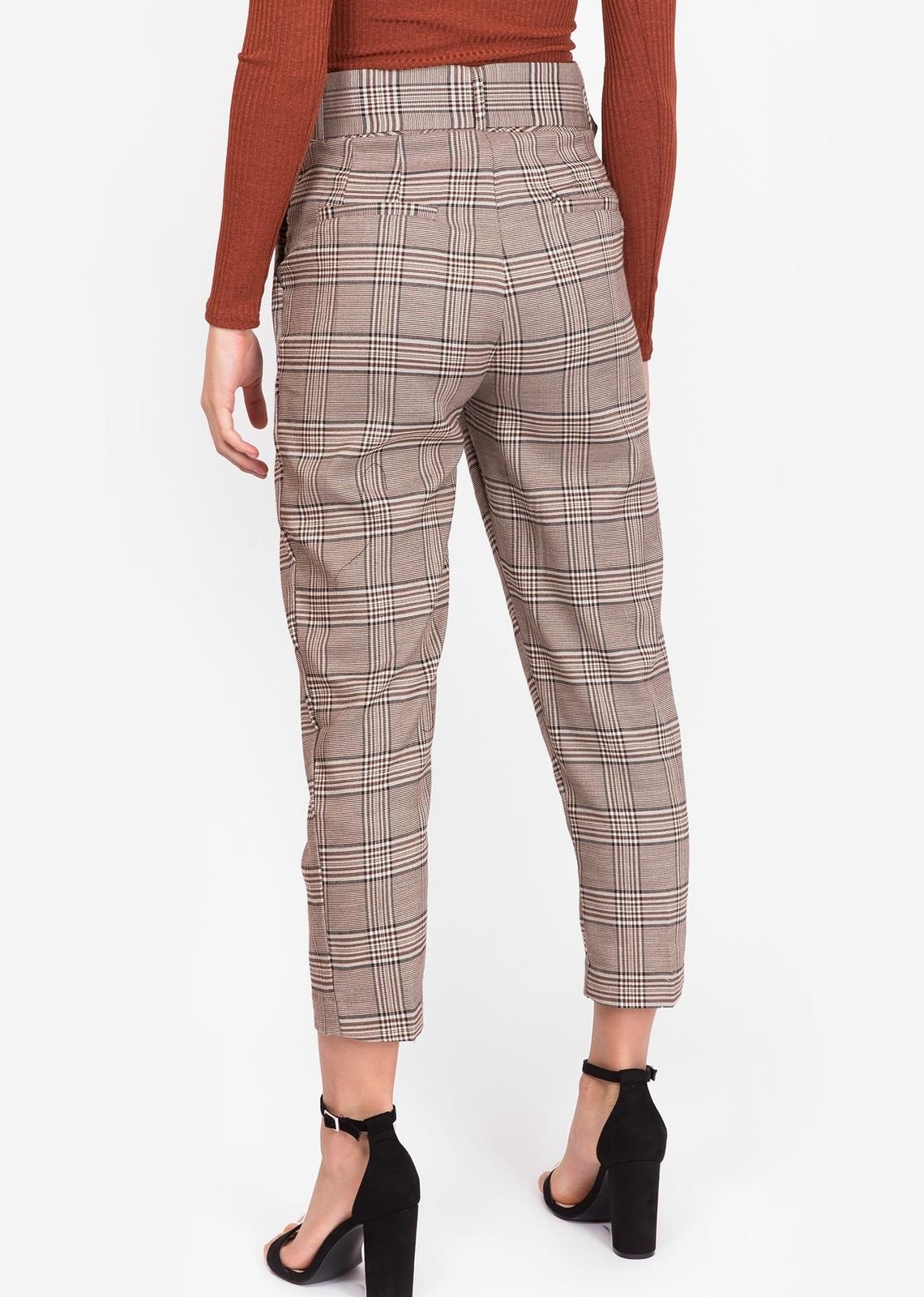 Belted pantalon