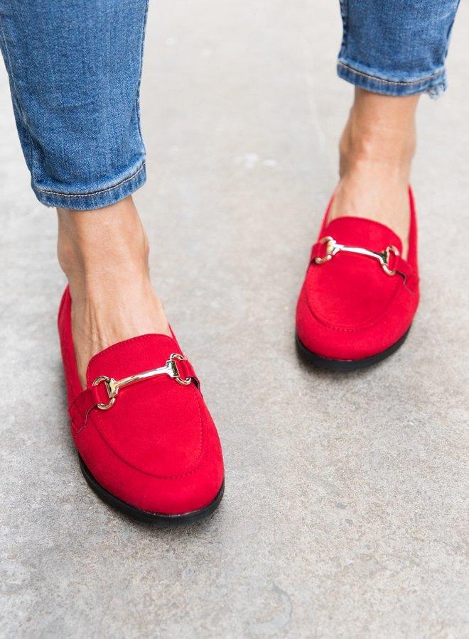 Red loafer